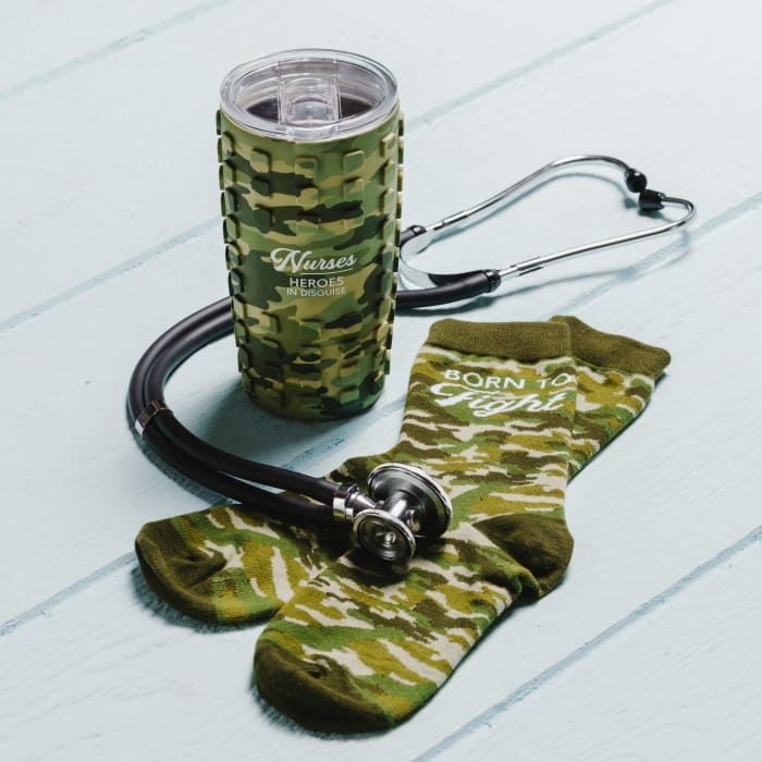 Nurses - Travel Tumbler with 3D Silicone Wrap