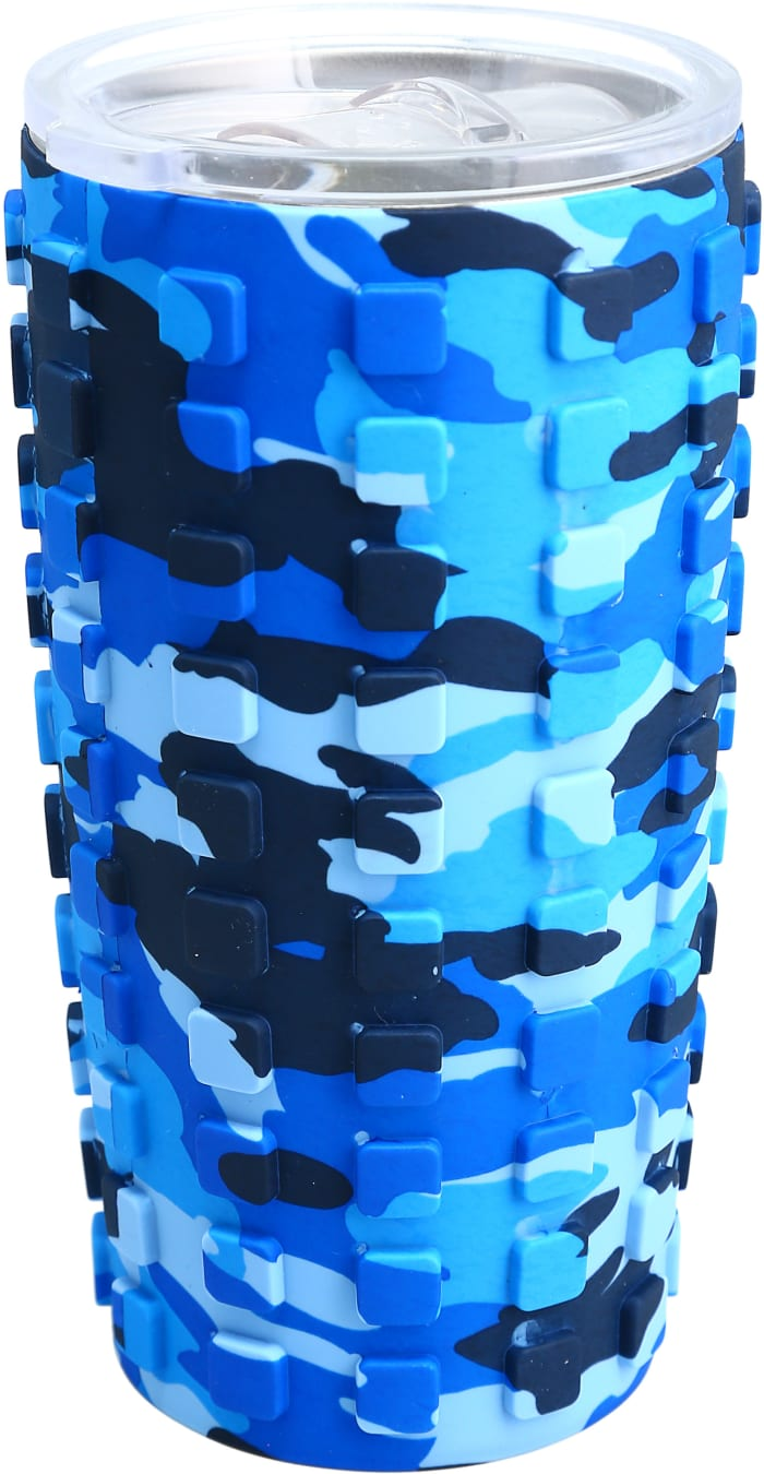Papa Bear - Travel Tumbler with 3D Silicone Wrap