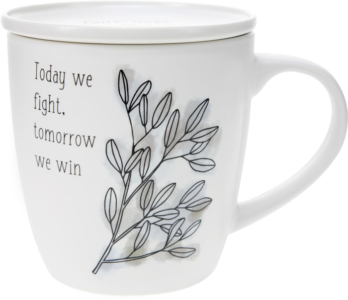 Today We Fight - Cup with Coaster Lid