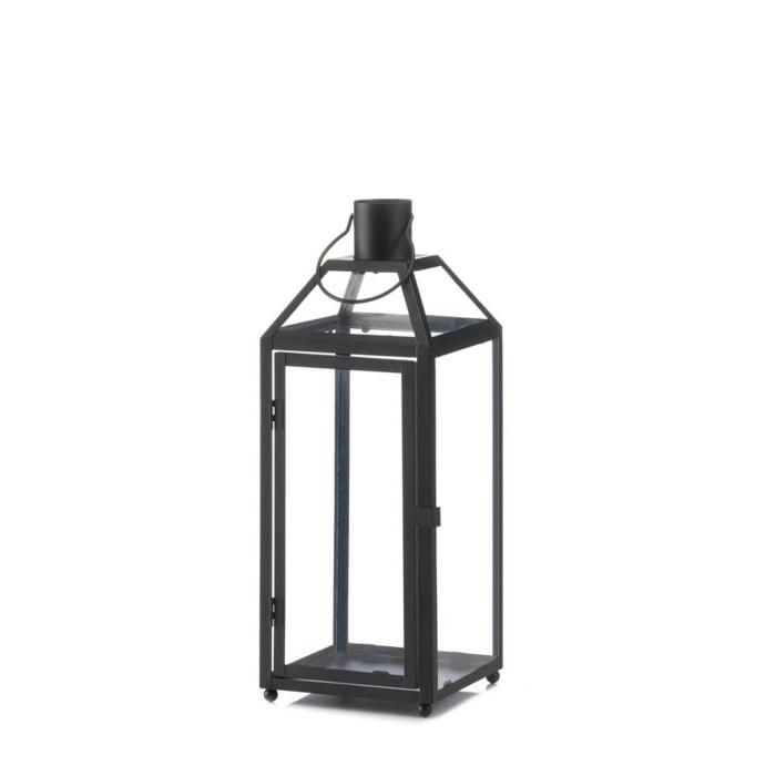 Midtown Medium Black Lantern