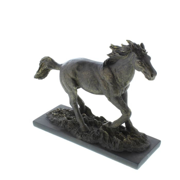 Wild Stallion Statue