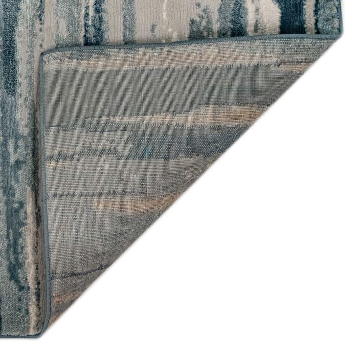 Brushstroke Indoor Rug Blue 5'3