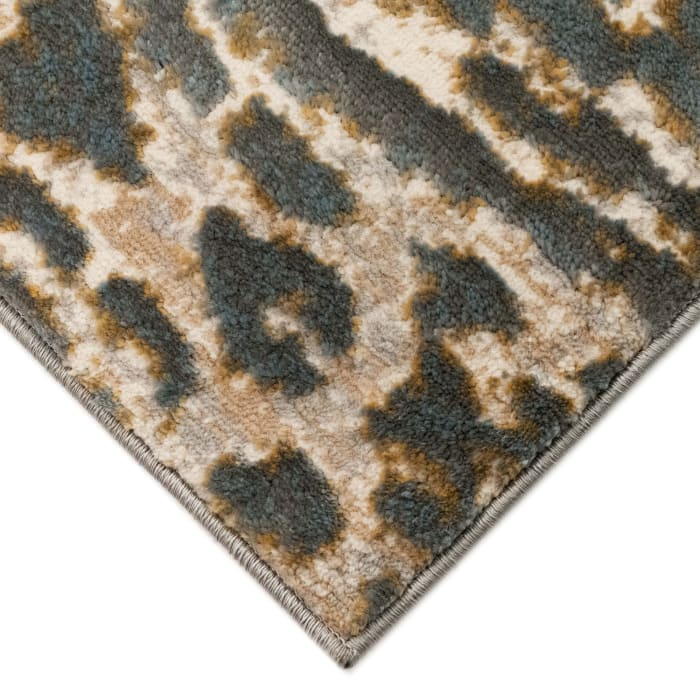 Safari Stripe Neutral 3.25' x 5' Indoor Rug