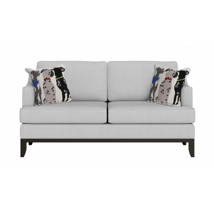 Three Dogs Outdoor Pillow