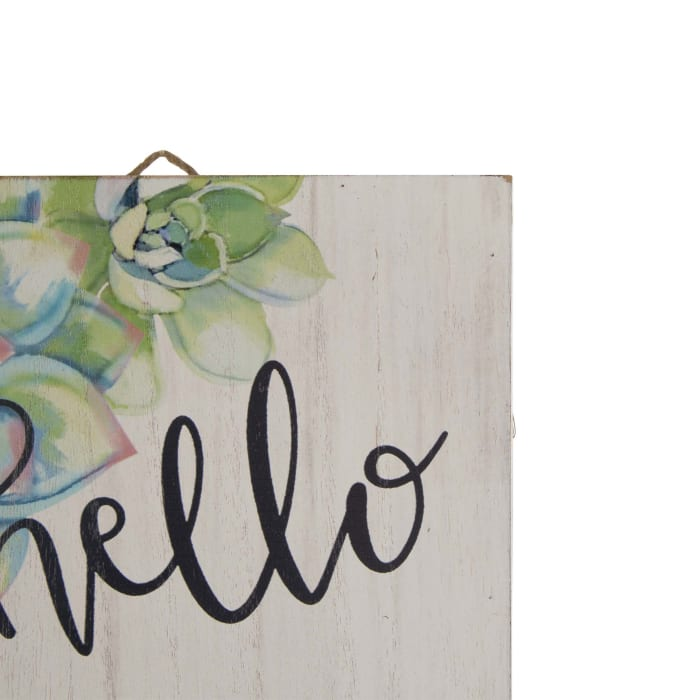 Wooden SPRING Porch Sign