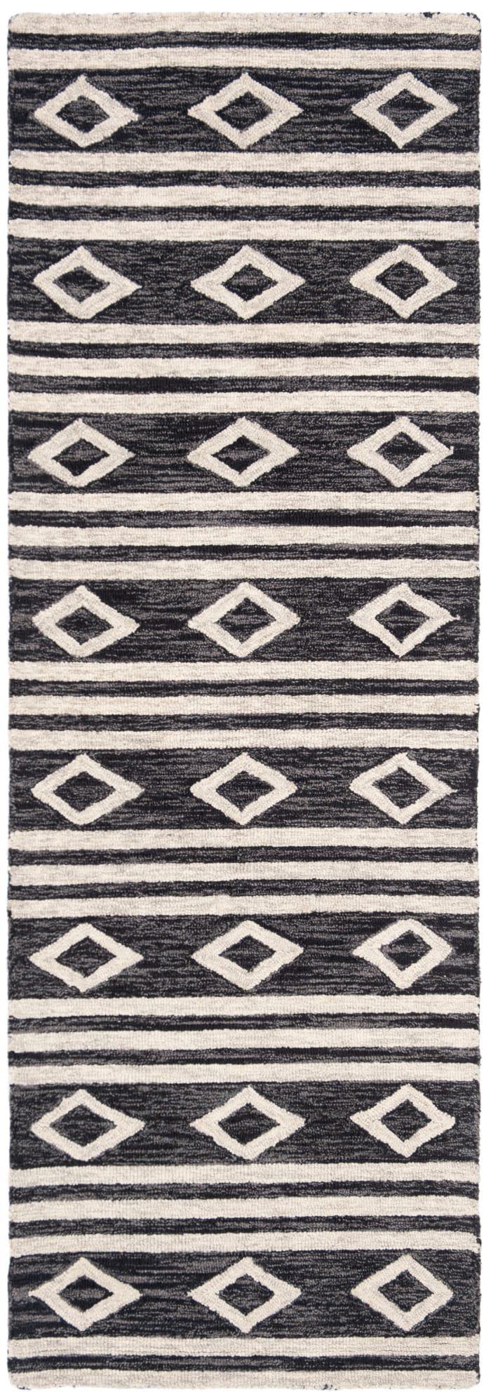 Essence Blue Wool Rug 2'5