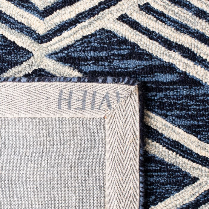 Essence Blue Wool Rug 3' x 5'