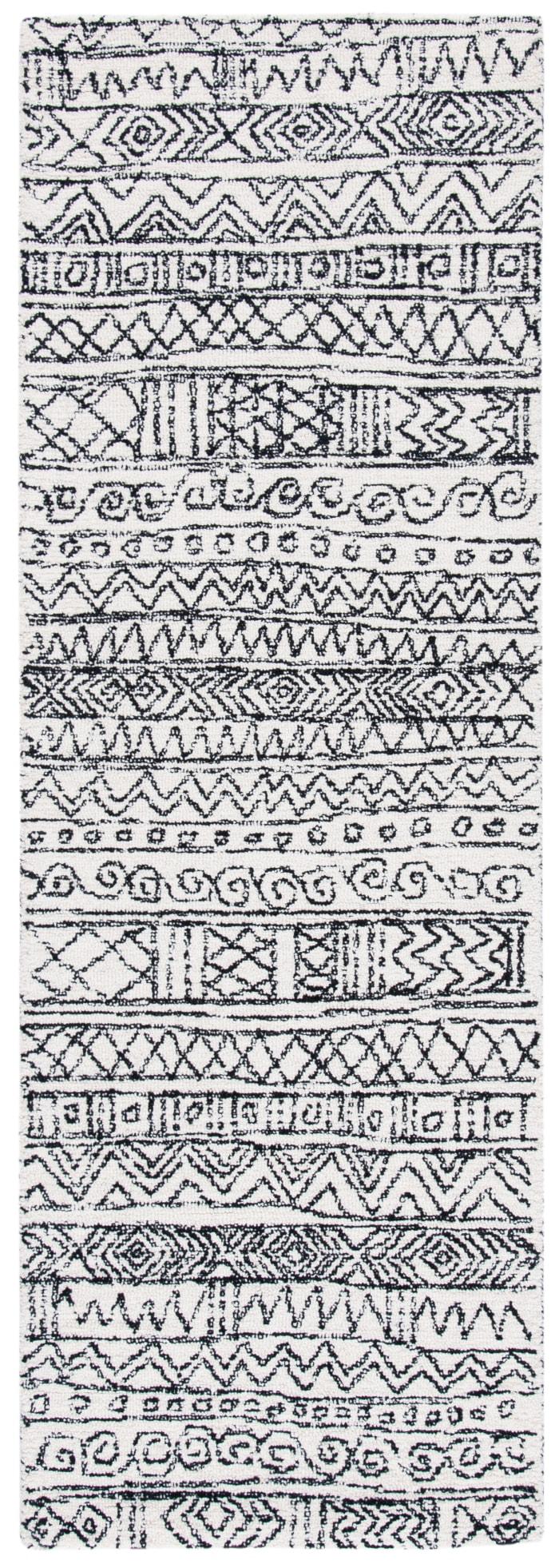 Essence Ivory Wool Rug 2.25' x 7'