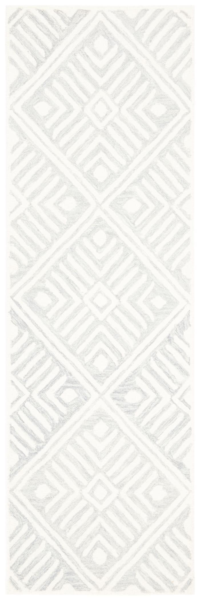 Essence Gray Wool Rug 2'25