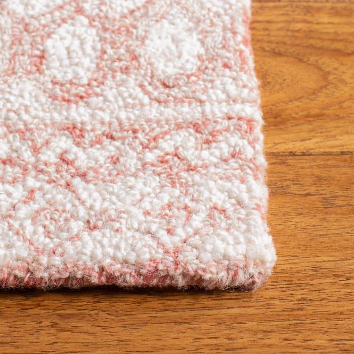Essence Pink Wool Rug 9' x 12'