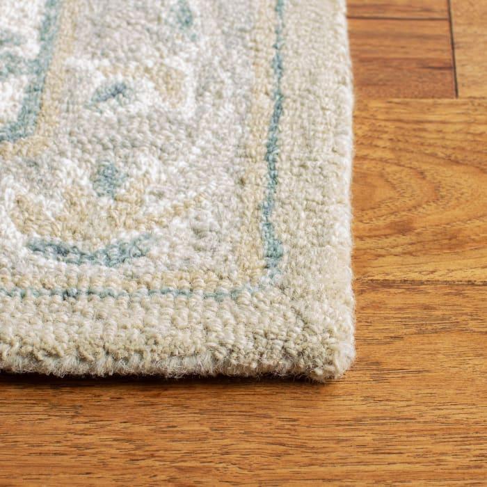 Essence Gray Wool Rug 9' x 12'