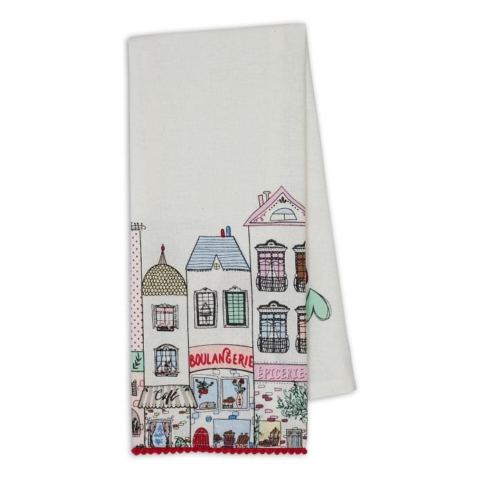 I Love Paris Printed Dishtowel Set/4