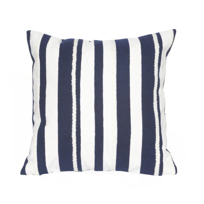 Marina Stripe Marine Outdoor Pillow