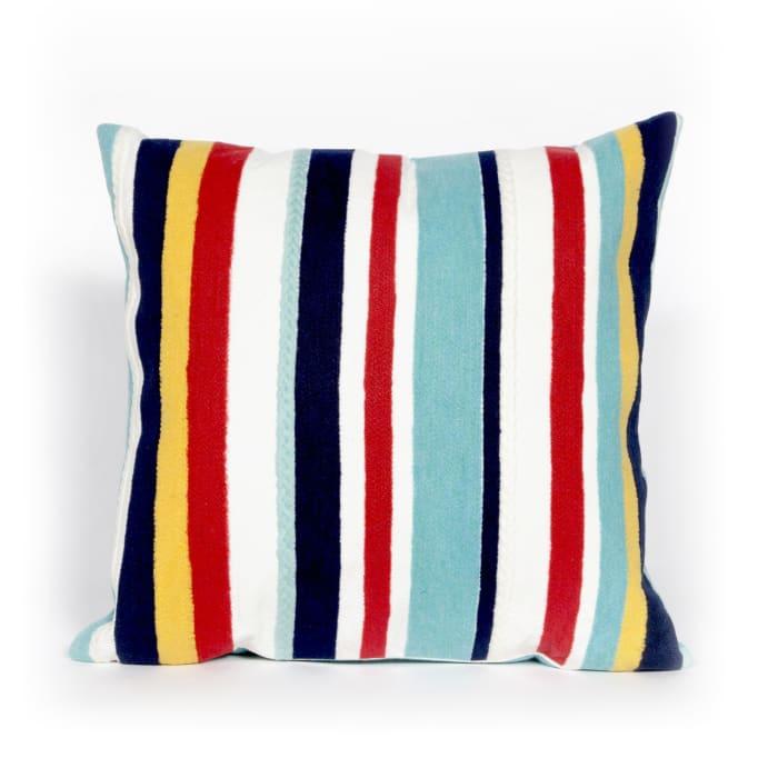 Riviera Strip Multi Outdoor Pillow