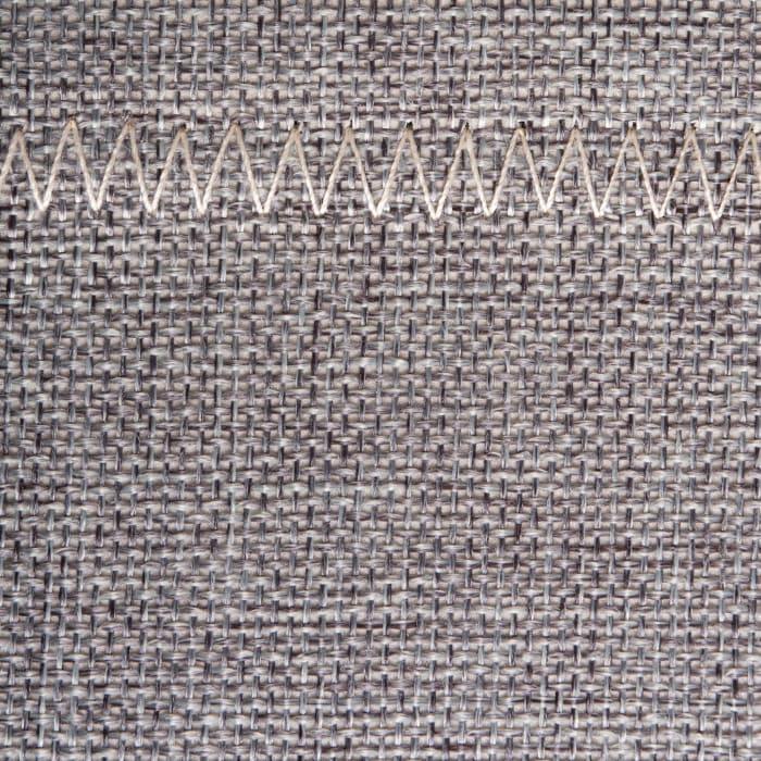 Poly Bin Zig-Zag Stitch Variegated Gray Trapezoid 13x13x13 Set/2
