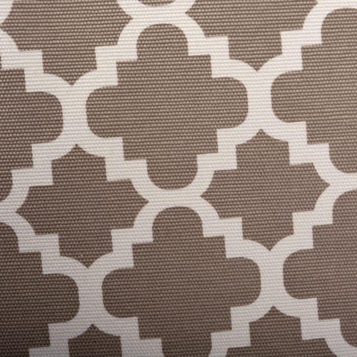 Polyester Bin Lattice Brown Rectangle Medium 16x10x12