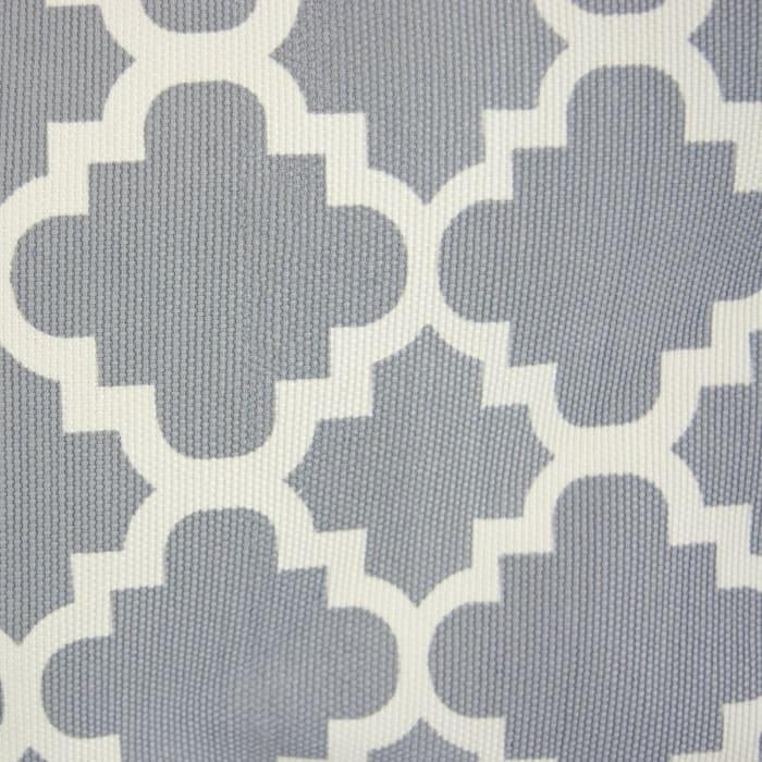 Polyester Bin Lattice Gray Round Small 9x12x12