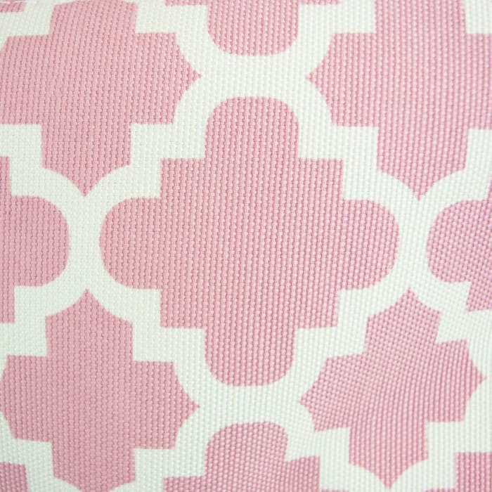 Polyester Bin Lattice Rose Rectangle Large 17.5x12x15