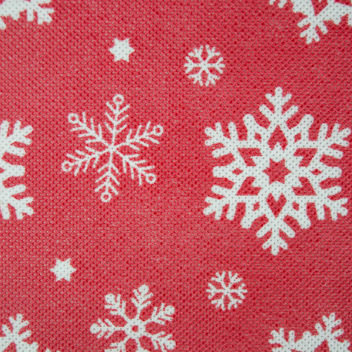 Snowflake Print Ornament Storage Large