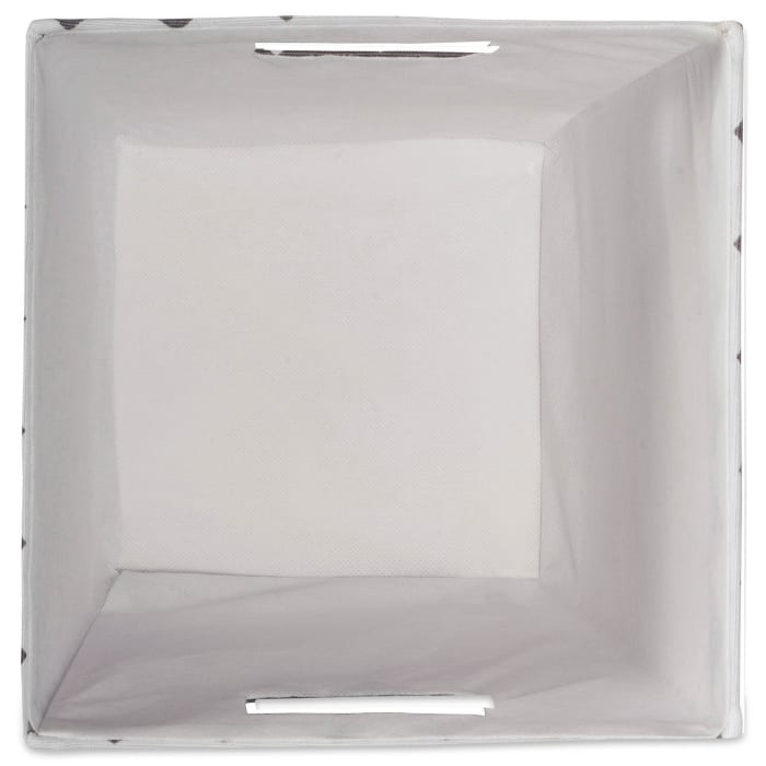 Polyester Bin Chevron Gold Trapezoid 12x10x7.75