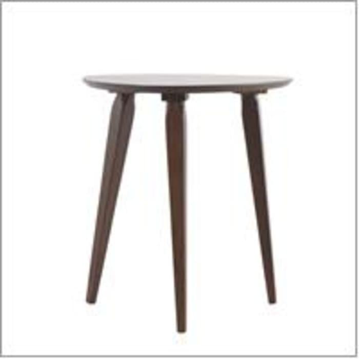 Walnut End Table