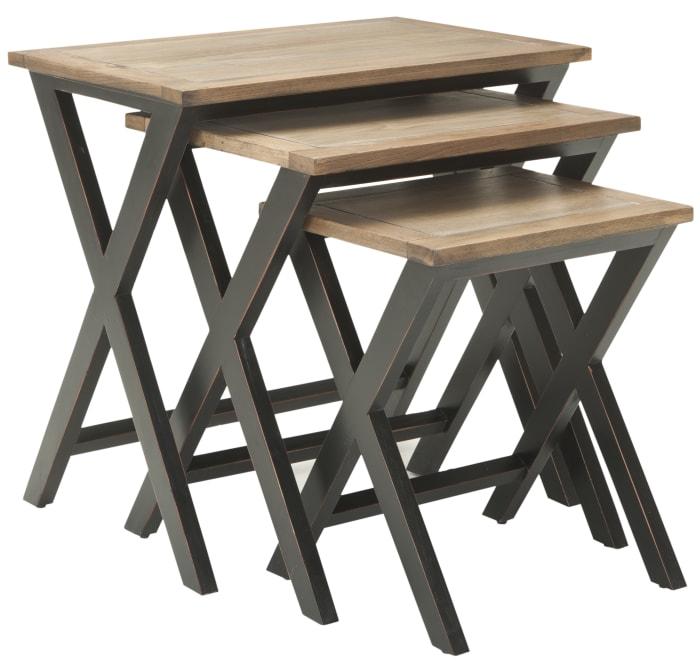 Buckler Black Nesting Tables
