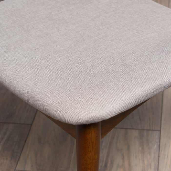 Gray Dining Chairs Set of 2