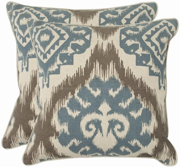 Amiri Blue Set of 2 Pillow