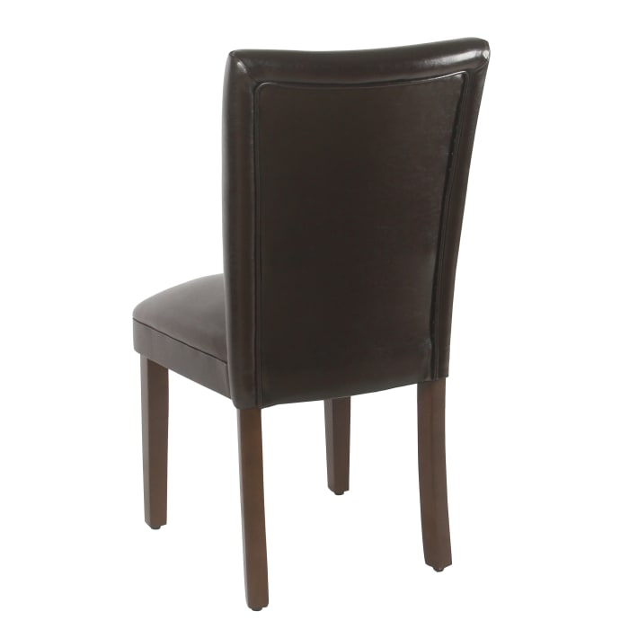 Classic Brown Dining Chair Set of 2
