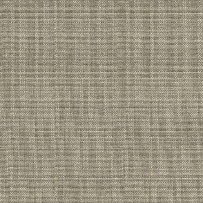 Medium Tan Linen Storage Ottoman