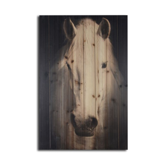 Horse Wooden Planked Wall Art