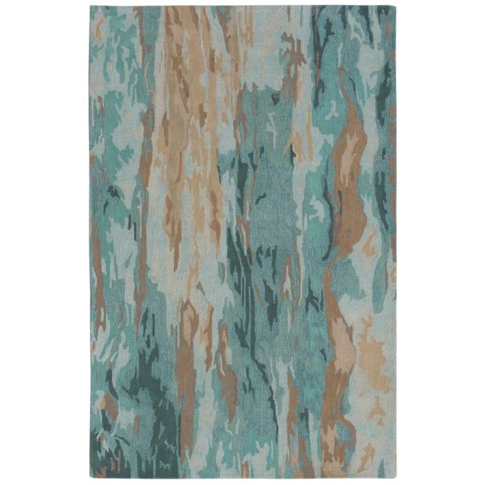 Blue Waterfall Indoor Rug 5' x 7'6