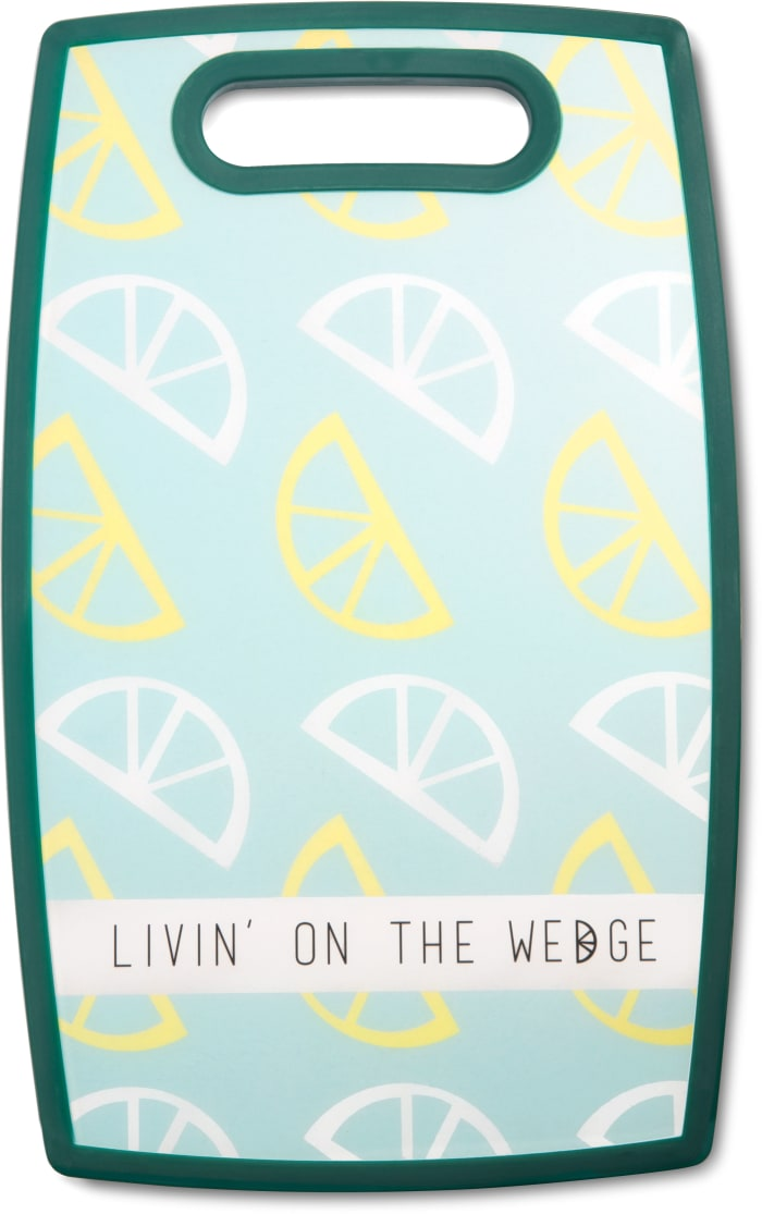 Livin' on the Wedge Cutting Board