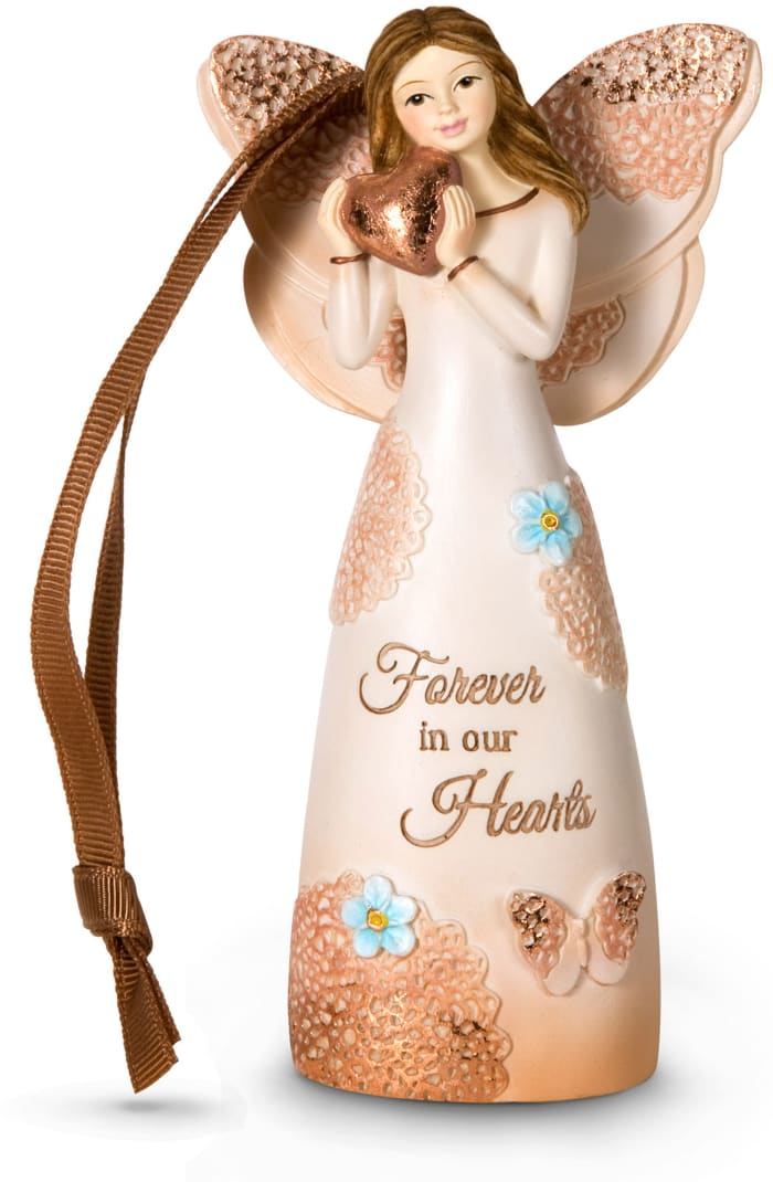Forever in Our Hearts Angel Ornament