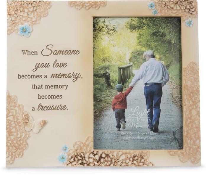 Treasured Memory 4x6 Photo Frame