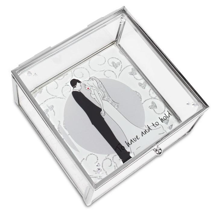 To Have & To Hold Wedding Keepsake Box