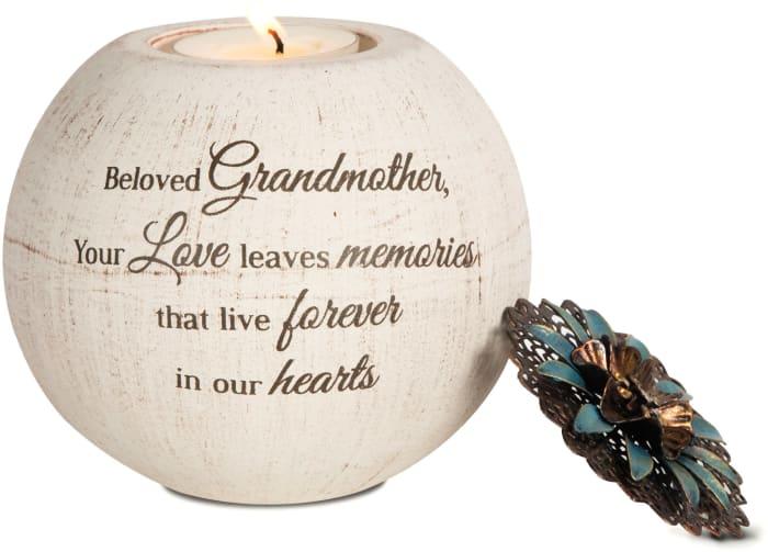 Beloved Grandmother Tealight Candle Holder