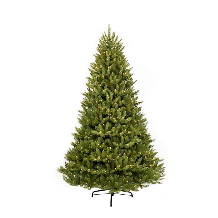 10' Pre-Lit  Fraser Fir Christmas Tree