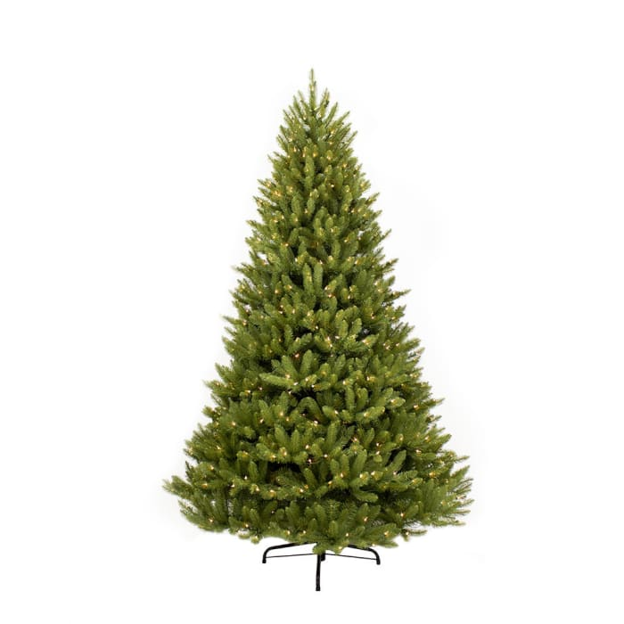 6.5' Pre-Lit Fraser Fir Artificial Christmas Tree