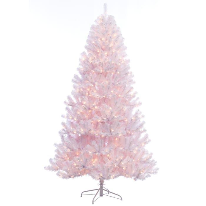 Montague 7.5' Pre-Lit White Northern Fir Artificial Christmas Tree500lights
