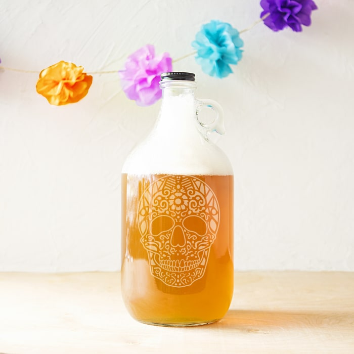 Sugar Skull Craft Beer Growler