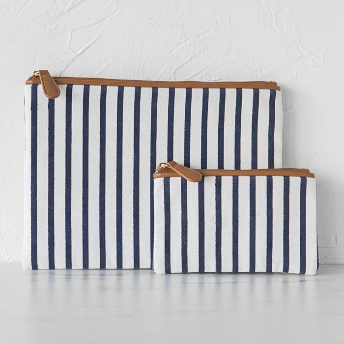 Striped Clutch Set