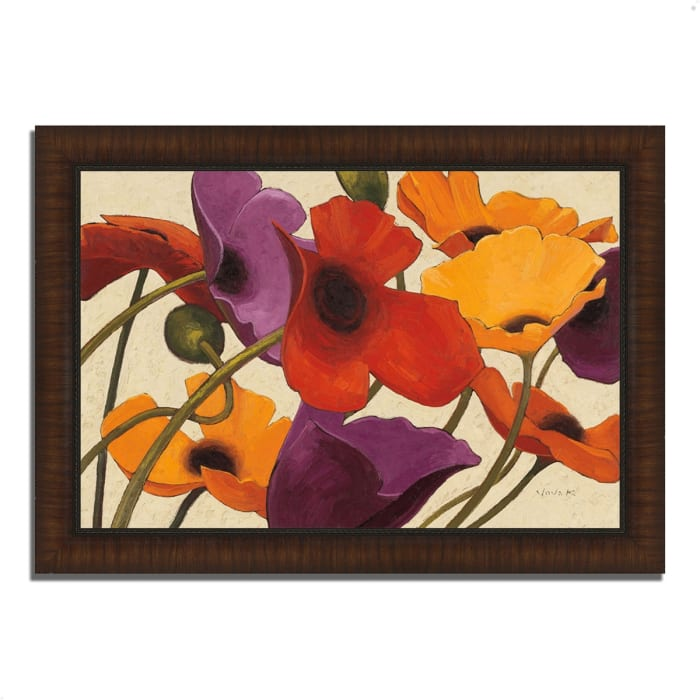 Framed Painting Print 36 In. x 26 In. Up Three by Shirley Novak Multi Color