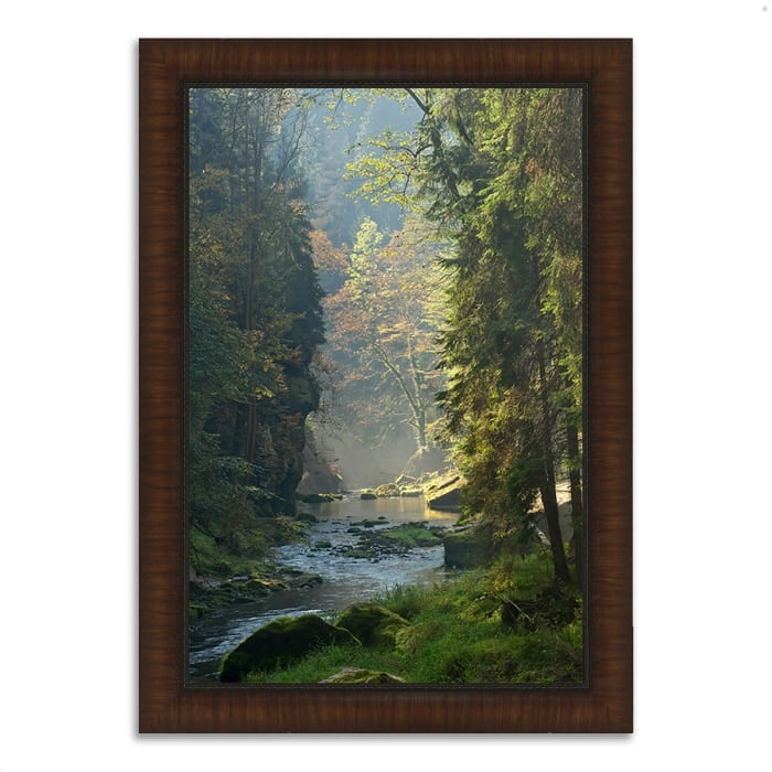 Framed Photograph Print 36 In. x 26 In. Paradise Found Multi Color