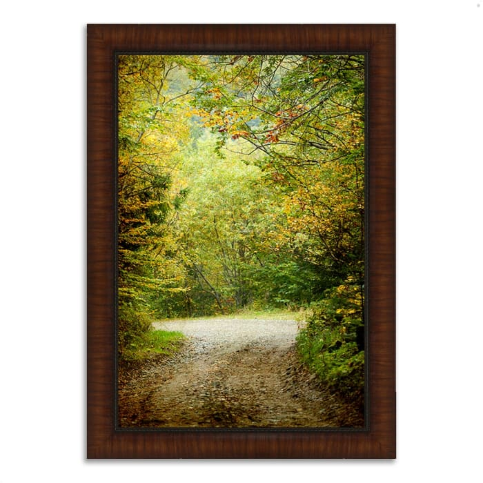 Framed Photograph Print 36 In. x 26 In. Summers End Multi Color