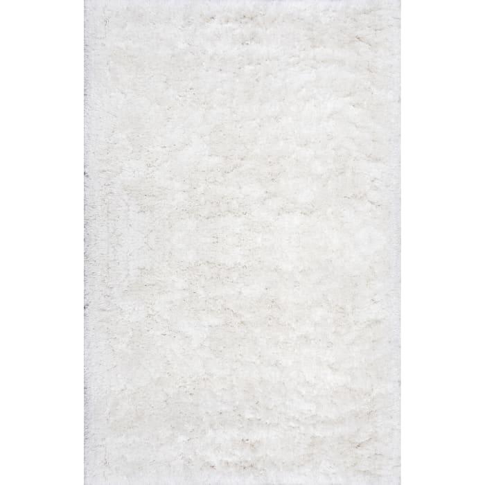Hand Tufted Kristan Shag 5' x 8' Ivory Rug