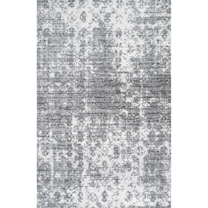 Power Loomed Deedra 8' x 10' Gray Rug