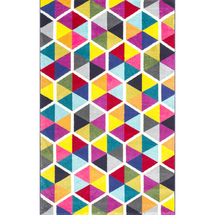 Maris Triangles 8' x 10' Multi Rug
