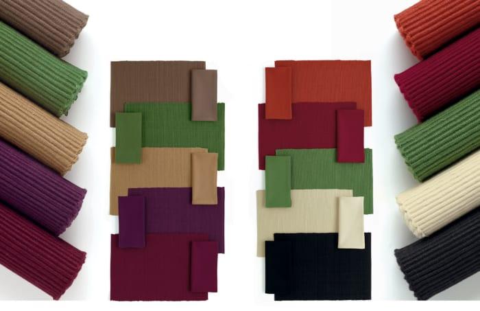 Ribbed Natural Placemats Set of 6
