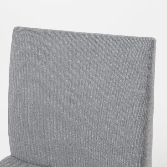 Gray Curved Leg 5-Piece Dining Set